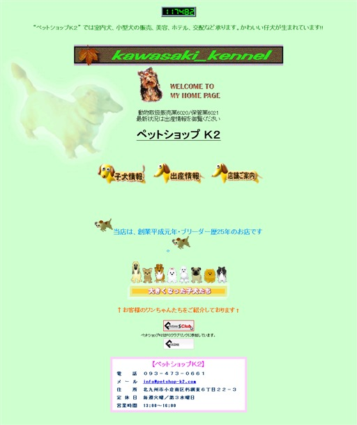 ブリーダーの店・・・【ペットショップK2】